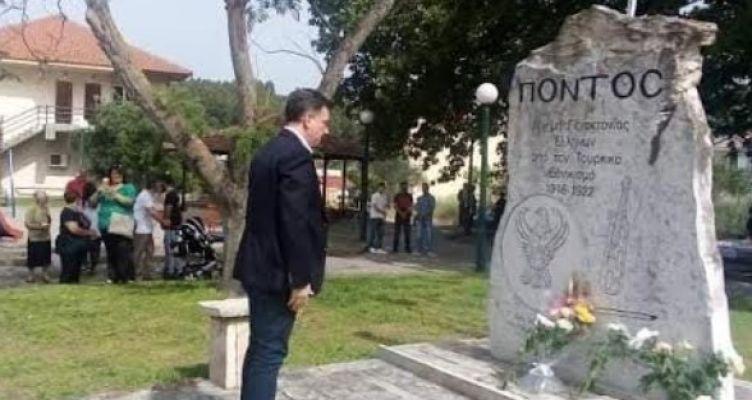 Θ. Μωραΐτης: «Η μνήμη παραμένει ζωντανή – Αγωνιζόμαστε για τη διεθνή αναγνώριση της Γενοκτονίας »