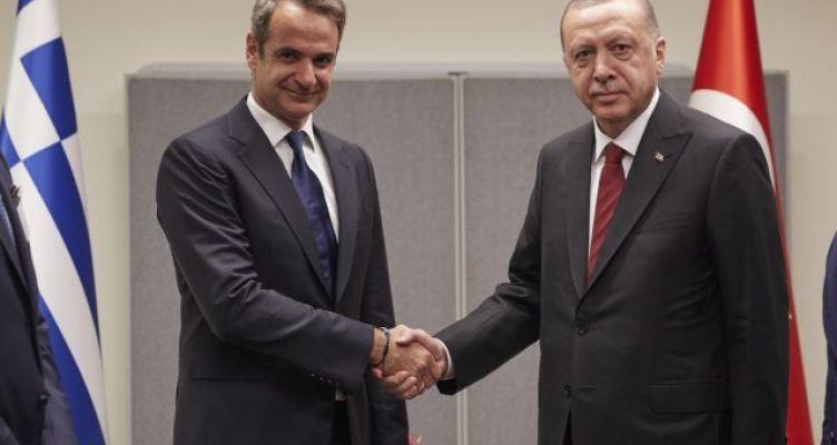Τηλεφωνική επικοινωνία Μητσοτάκη – Ερντογάν: Πώς κλείστηκε η συνομιλία των δύο ηγετών