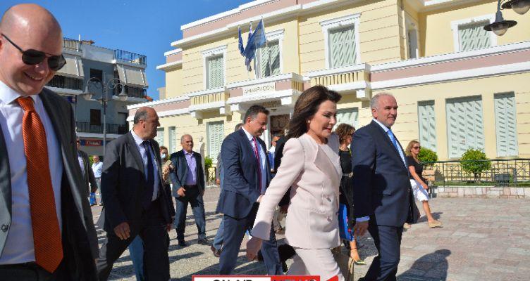 Στο Μεσολόγγι η Πρόεδρος της Επιτροπής «Ελλάδα 2021» Γιάννα Αγγελοπούλου – Δασκαλάκη (Φωτό-Βίντεο)