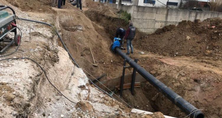 """Αγρίνιο: Εμβληματικό έργο του """"Αντώνης Τρίτσης"""" η αντικατάσταση του κεντρικού αγωγού υδροδότησης"""