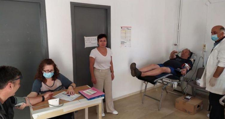 Αμφιλοχία: Eθελοντική αιμοδοσία στο Λουτρό (Φωτό)