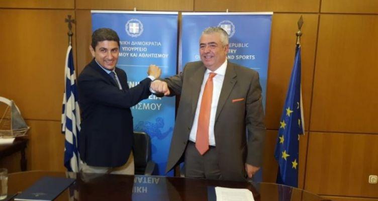 Αυγενάκης: «Προγράμματα εκπαίδευσης και κατάρτισης Αθλητικής Διοίκησης και Οργάνωσης»