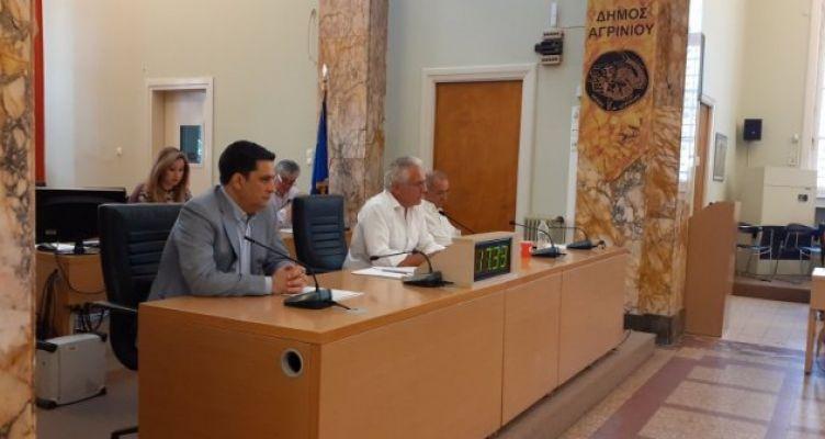 Live η συνεδρίαση του Δημοτικού Συμβουλίου Αγρινίου (Βίντεο – Φωτό)