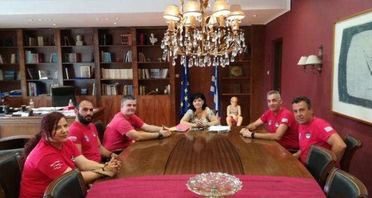 Συνάντηση της Ε.Ο.Ε.Δ. Μεσολογγίου, με την Μαρία Σαλμά για θέματα εθελοντισμού