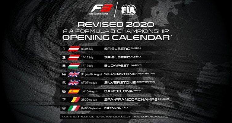 Το αναθεωρημένο καλεντάρι της Formula 1 – Οι αγώνες αρχίζουν από τις 5 Ιουλίου