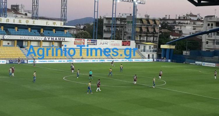 SL1 – Τέλος παιχνιδιού: Παναιτωλικός (3-0) Α.Ε.Λ.