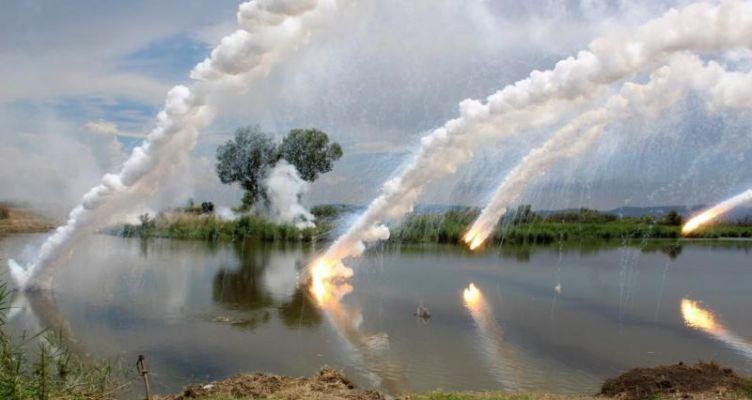 Στρατιωτική άσκηση βίαιης διάβασης του Έβρου
