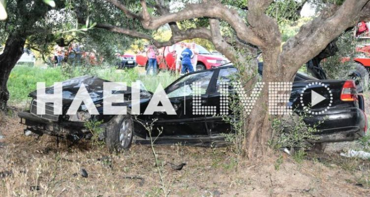 Φρικτό τροχαίο στην Ηλεία: Νεκρός 17χρονος