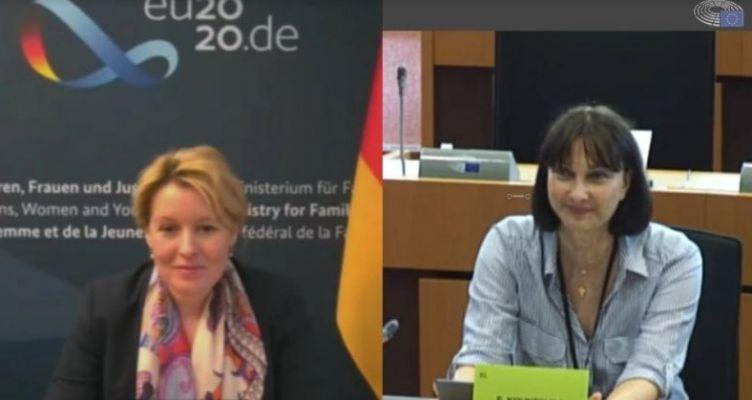 Αίτημα Έλενας Κουντουρά για την ισότητα και τα δικαιώματα των γυναικών