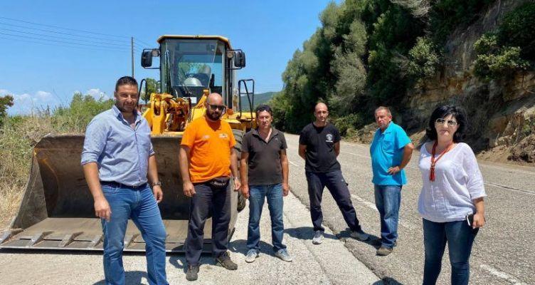Εργασίες συντήρησης και αποκατάστασης στην Εθνική Οδό Αντιρρίου – Ιωαννίνων