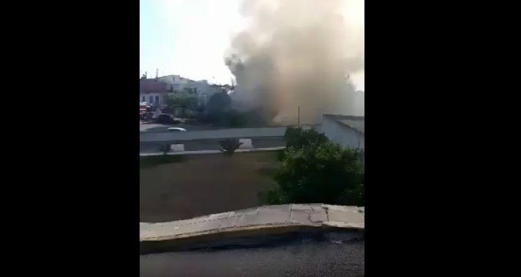 Φωτιά απείλησε το Νοσοκομείο Ι.Π. Μεσολογγίου