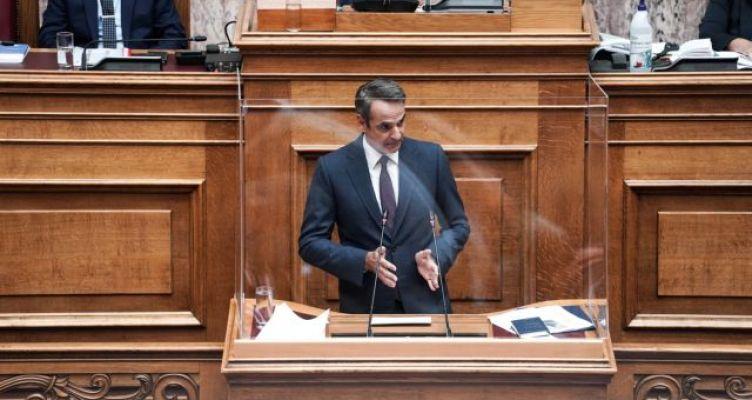 Μητσοτάκης στη Βουλή: Αβολη συνήθεια η χρήση μάσκας αλλά πρέπει να γίνει ο κανόνας