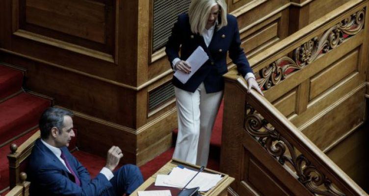 Μητσοτάκης – Γεννηματά: Μπρα ντε φερ για Σαμαρά, σοσιαλδημοκρατία, Καμίνη και διαδηλώσεις