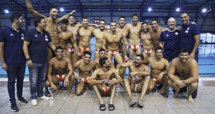 Πόλο: Πρωταθλητής για 8η σερί χρονιά ο Ολυμπιακός!
