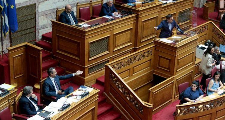 Βουλή: Σε υψηλούς τόνους η συζήτηση του νομοσχεδίου για τις συναθροίσεις (Βίντεο)