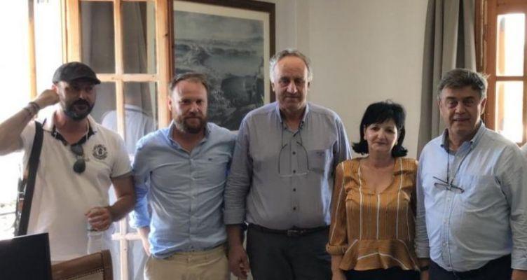 Επίσκεψη της Μαρίας Σαλμά στον Δήμο Ακτίου – Βόνιτσας