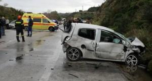 Τώρα: Τροχαίο ατύχημα στο Πλατανίτη (Φωτό)