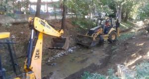 Καθαρισμός ρεμάτων από τον Δήμο Αγρινίου