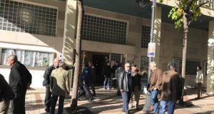 Διαμαρτυρία του ΠΑΜΕ στο δημαρχείο του Αγρινίου (Φωτογραφίες – Βίντεο)