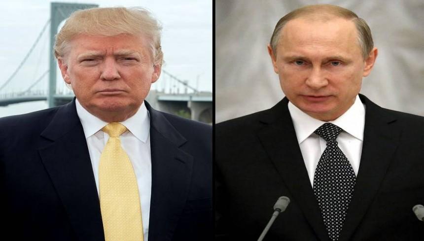 Παγκόσμια ανακούφιση: «Έδωσαν τα χέρια» Ν.Τραμπ και Β.Πούτιν σε συνομιλία που είχαν