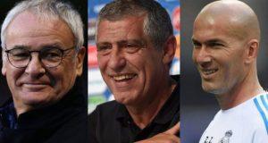 Σάντος, Ζιντάν και Ρανιέρι οι υποψήφιοι για το βραβείο του…