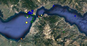 Δώδεκα σεισμικές δονήσεις μετά τα 4,9 R στον Πατραϊκό