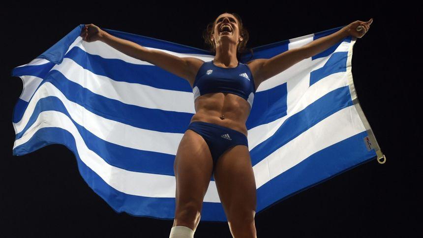 Ευρωπαϊκή Ομοσπονδία Στίβου: Κορυφαία αθλήτρια του Αυγούστου η Κατερίνα Στεφανίδη!