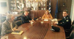 Εθιμοτυπική συνάντηση Χρ. Σταρακά με τον Αδ. Μητρόπουλο και τον…