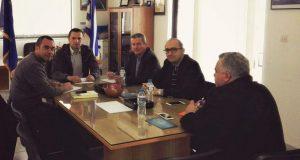 Συνάντηση Εμποροβιομηχανικού Συλλόγου Μεσολογγίου και Ένωσης Ξενοδόχων Αιτωλ/νίας