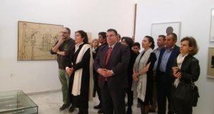 Επίσκεψη της Υπουργού Πολιτισμού στο Μουσείο Βάσως Κατράκη στο Αιτωλικό
