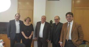 Πλήθος συναντήσεων του Δημάρχου Ναυπακτίας Παναγιώτη Λουκόπουλου