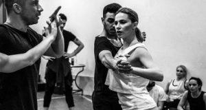 Η Ναυπάκτια, Νάντια Μπουλέ ανεβαίνει στο θεατρικό σανίδι ως… «Εβίτα»