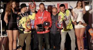 Η τελετή λήξης του Hellas Rally Raid στη Ναύπακτο (Βίντεο)