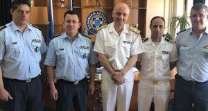Εθιμοτυπική επίσκεψη του Διοικητή της 5ης Π.Δ.Λ.Σ.- Ελληνικής Ακτοφυλακής στη…