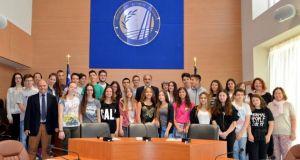 Περιφερειακοί Σύμβουλοι για μία ημέρα οι μαθητές του 21ου Γυμνασίου