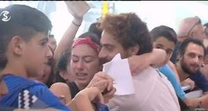 Χαμός στην επιστροφή του Survivor Μάριου Πρίαμου στην Κύπρο! (Βίντεο)