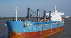 Το εμπορικό πλοίο «Αιτωλία» των νησιών Μπαρμπάντος