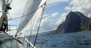 Ακυβερνησία ιστιοφόρου σκάφους στο Μεσολόγγι