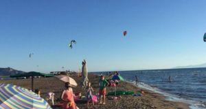 Ξεκίνησε το KiteSurf festival στο Διόνι
