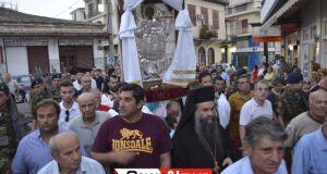 Μέγας Πανηγυρικός Εσπερινός μετ' Αρτοκλασίας στον Άγιο Παντελεήμονα στο Μεσολόγγι…