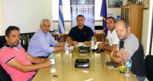 Συνάντηση Διοίκησης Εμποροβιομηχανικού Συλλόγου με τον Αντιδήμαρχο Σπύρο Καρβέλη