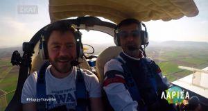 Η πτήση του Αμφιλοχιώτη Διονύση Τσεκούρα για γνωστή εκπομπή πριν…