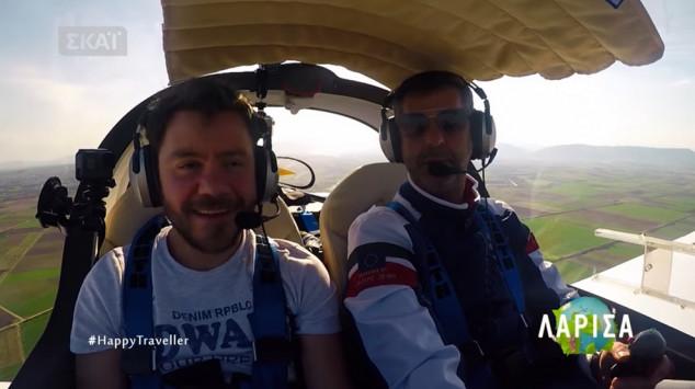 Η πτήση του Αμφιλοχιώτη Διονύση Τσεκούρα για γνωστή εκπομπή πριν την τραγωδία (Βίντεο)