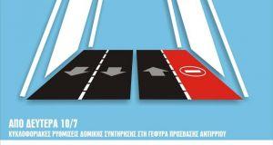 Γέφυρα «Χαρίλαος Τρικούπης»: Συνέχεια Κυκλοφοριακών ρυθμίσεων λόγω δομικής συντηρήσεως στη…