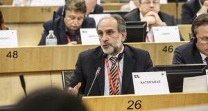 Στις Βρυξέλλες ο Απ. Κατσιφάρας για την εκλογή νέου Προέδρου…