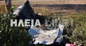 Τραγικό δυστύχημα στην Πατρών-Πύργου με θύμα έναν 25χρονο
