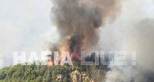 Ανεξέλεγκτες μαίνονται 4 πυρκαγιές στο νομό Ηλείας – Συνελήφθη ένα…