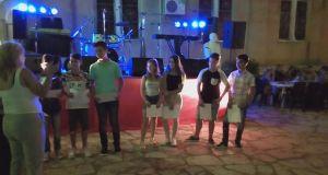 Μαθητές και μαθήτριες βραβεύτηκαν στην πλατεία της Κατούνας