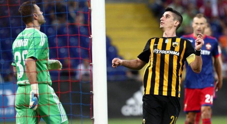 Champions League: Νέα τζάμπα ήττα και αποκλεισμός για την Α.Ε.Κ.