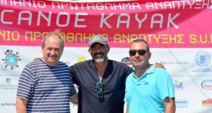 O Νίκος Αλιάγας στο 21ο πανελλήνιο πρωτάθλημα canoe kayak στο…